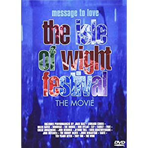 Message to Love: Isle of Wight Festival [DVD] [Import]