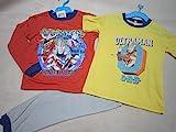 ウルトラマンオーブ 長袖半袖2TOPSパジャマ 100cm赤