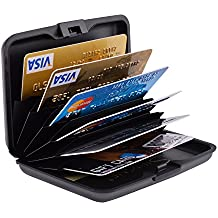 Hard Credit Card Cases Slim, MaxGear RFID Blocking Card Cases Plastic Credit Card Holder Slim Card Cases