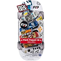 Tech Deck - 96mm Fingerboards - 4-Pack - Flip [並行輸入品]