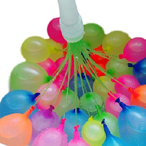 [해외]대량 물 풍선 물 폭탄 물놀이 용 풍선 물놀이 축제 장난감 수영장 야외 100 개 이상의 매직 풍선 펌프 필요없이 대량 생산 세트/Massive Water Balloon Water Bomb Water Playing Balloon Water Play Festival Toy Pool Outdoor More than 100 Magic...