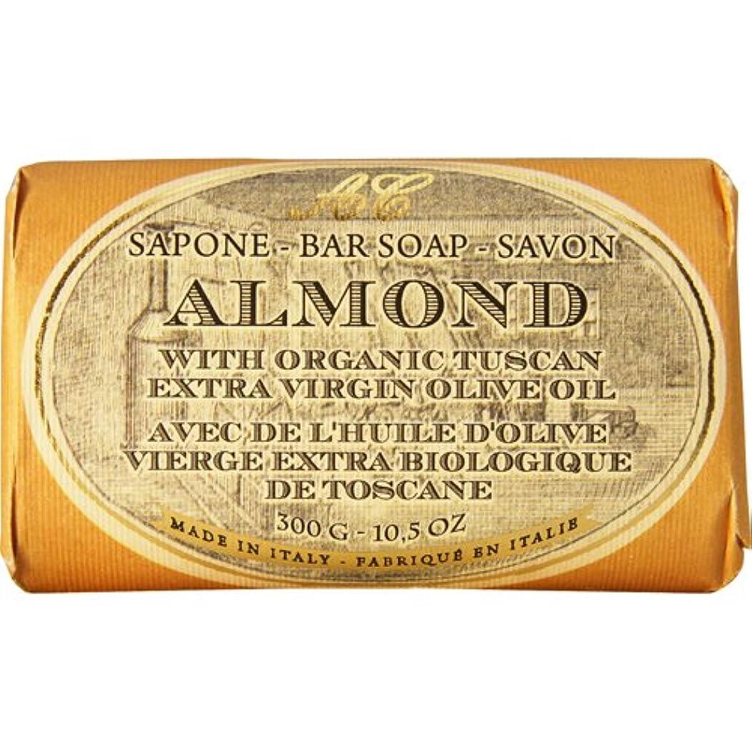 心理的に凍った哀Saponerire Fissi レトロシリーズ Bar Soap バーソープ 300g Almond アーモンドオイル