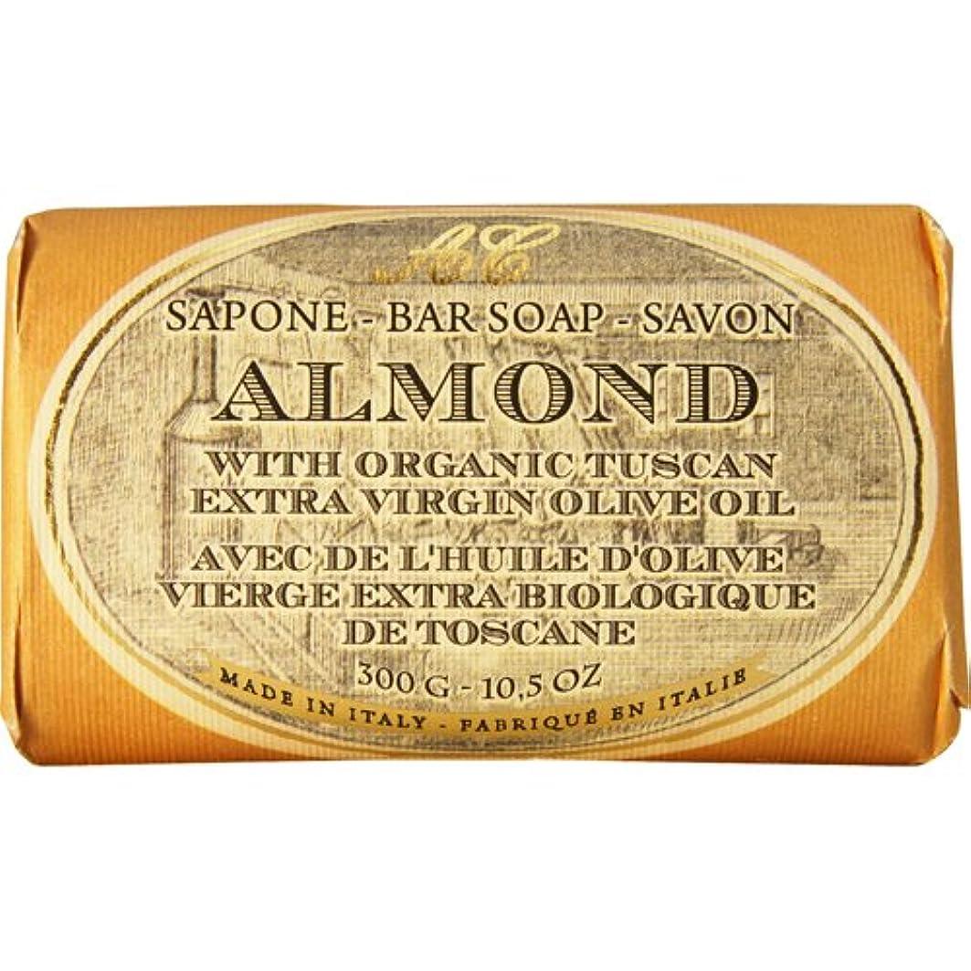 建てる本当のことを言うとに勝るSaponerire Fissi レトロシリーズ Bar Soap バーソープ 300g Almond アーモンドオイル