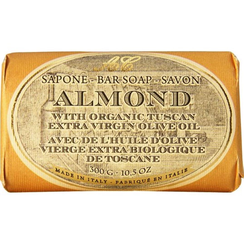君主制小石割り当てSaponerire Fissi レトロシリーズ Bar Soap バーソープ 300g Almond アーモンドオイル