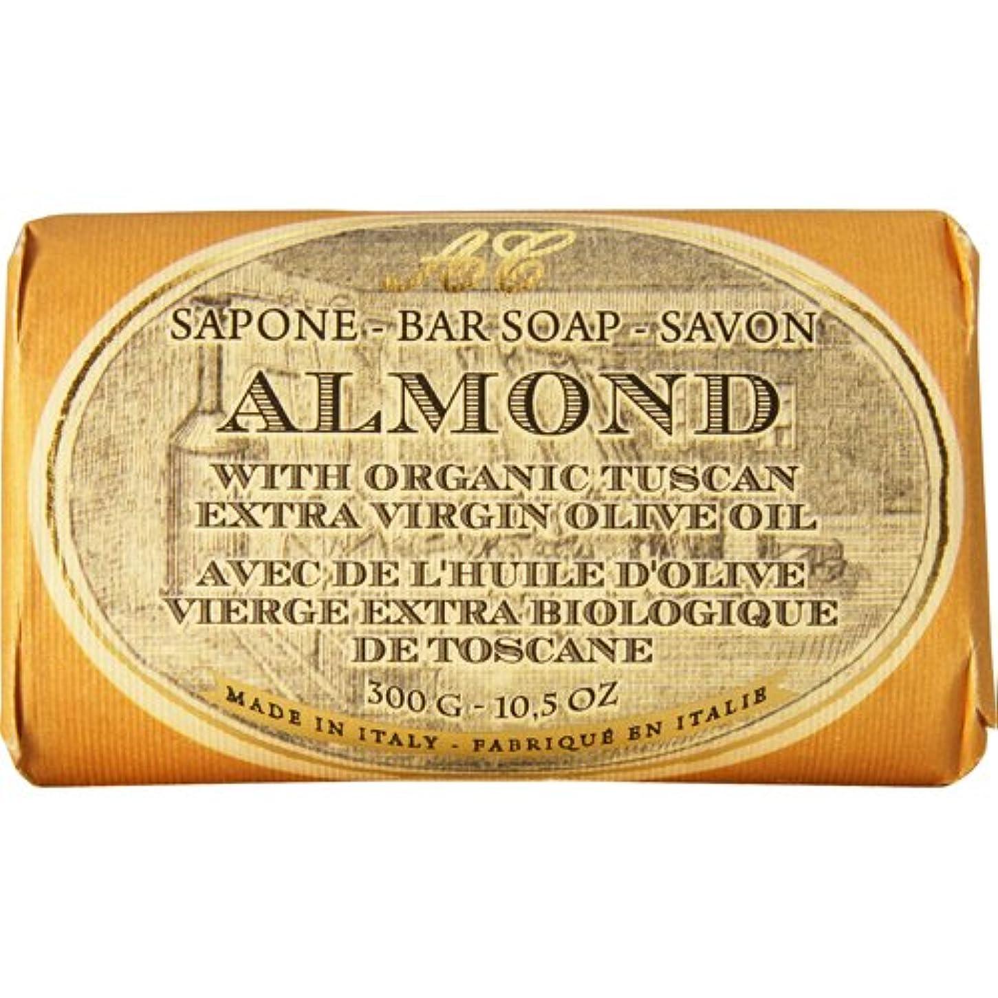 一生連続的誘導Saponerire Fissi レトロシリーズ Bar Soap バーソープ 300g Almond アーモンドオイル