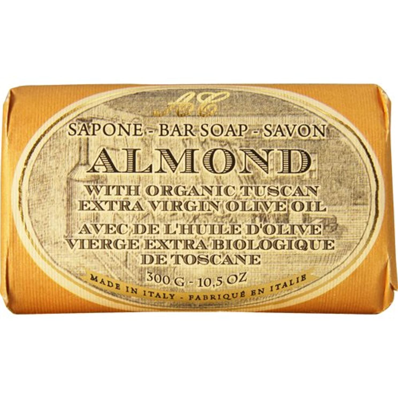 理想的にはアニメーション修道院Saponerire Fissi レトロシリーズ Bar Soap バーソープ 300g Almond アーモンドオイル