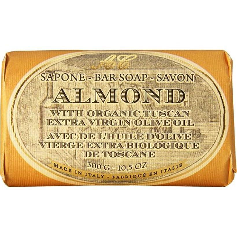 便宜肥沃な雪のSaponerire Fissi レトロシリーズ Bar Soap バーソープ 300g Almond アーモンドオイル
