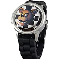 Five Nights at Freddy's 3D Spinner Analog Watch with Lift Cover Feature