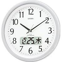 CITIZEN シチズン 掛け時計 電波時計 ネムリーナカレンダーM02 4FYA02-019