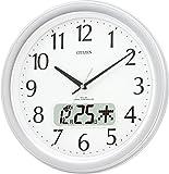 CITIZEN ( シチズン ) 電波 掛け時計 ネムリーナカレンダーM02 4FYA02-019