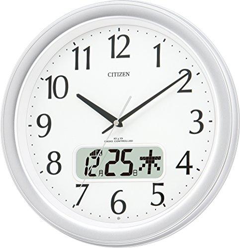 CITIZEN (シチズン) 電波 掛け時計 ネムリーナカレンダーM02 4FYA02-019