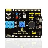 keyestudio多機能シールドバージョン1 DHT11温湿度センサー 回転ポテンショメータ ブザー RGB LED Arduino用