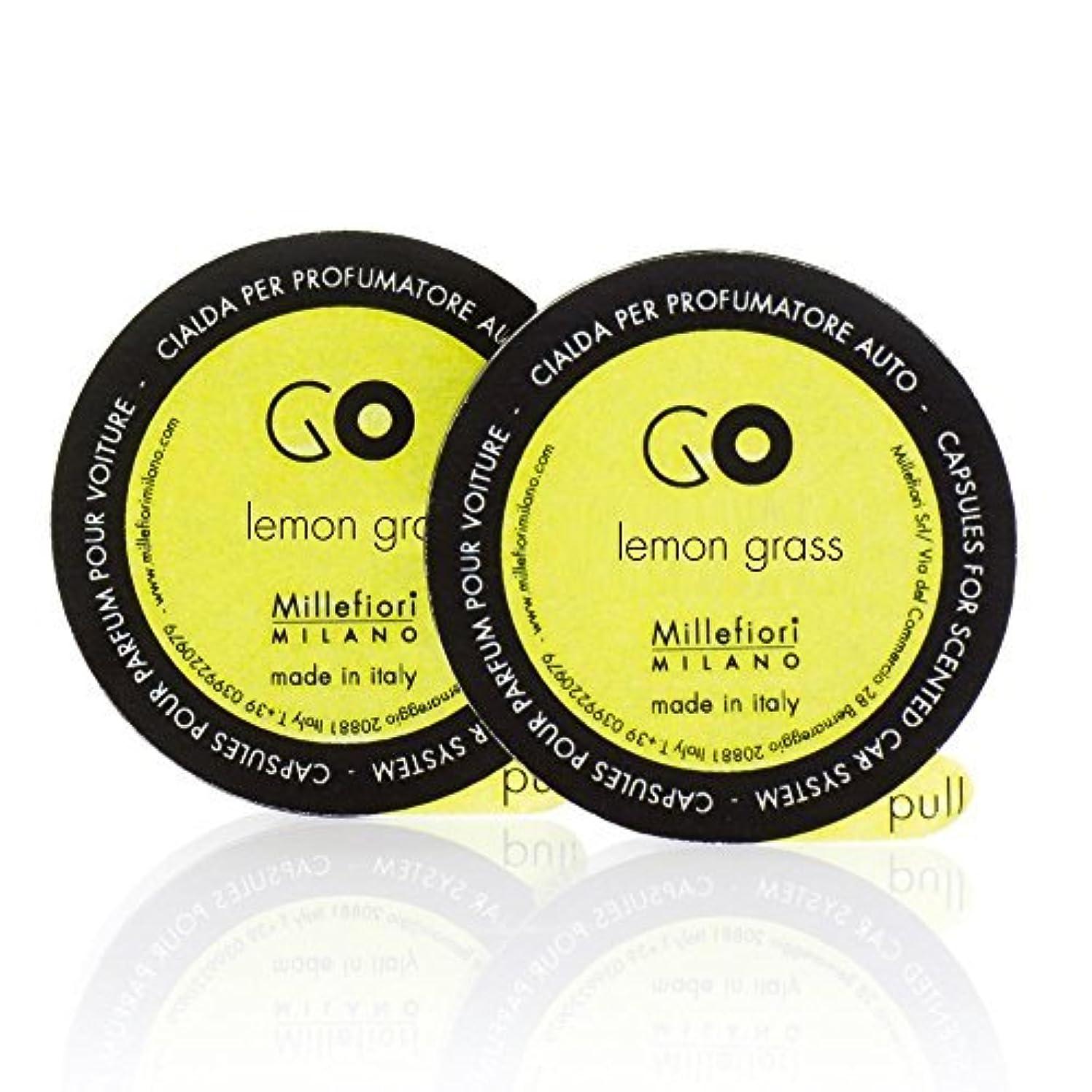 ヒントマイナー旧正月ミッレフィオーリ ( Millefiori ) 「GO」専用 レフィル / lemon grass レモングラス