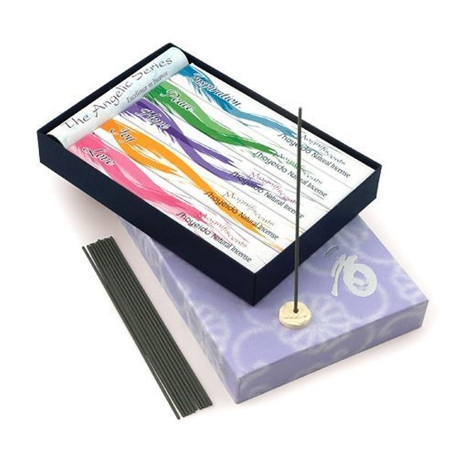 十代の若者たち切断するリア王Shoyeido's Angelic Incense 5-Bundle Gift Set by SHOYEIDO