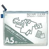 サクラクレパス メッシュケース クリアー A5 ブルー UNC-A5#36