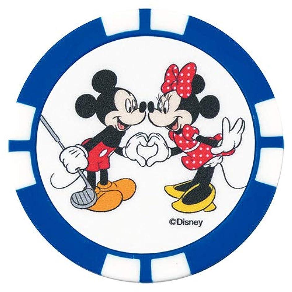 縮約ボスデュアルダンロップ(DUNLOP) グリーンマーカー Disney ディズニー チップマーカー GGF-07105 ミッキーブルー