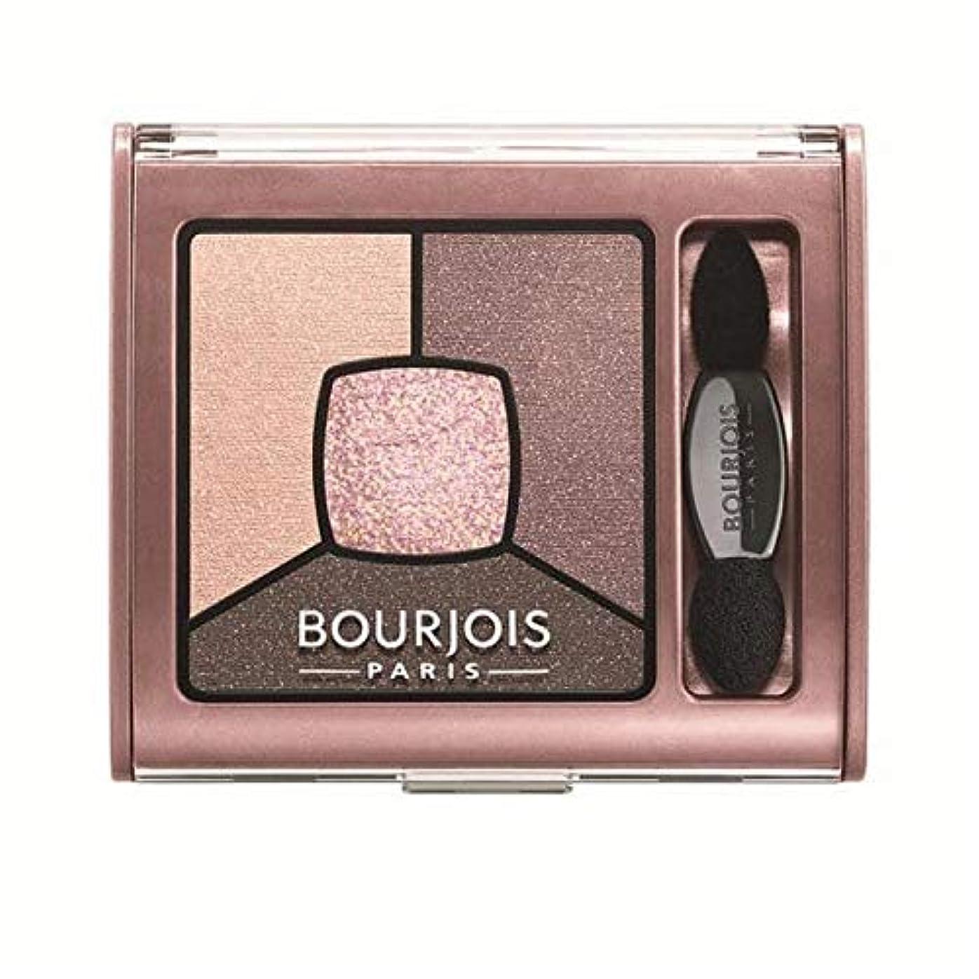 機関公エンコミウム[Bourjois ] ブルジョワスモーキー話クワッドアイシャドウ - バラオーバー - Bourjois Smoky Stories Quad Eyeshadow - Over Rose [並行輸入品]