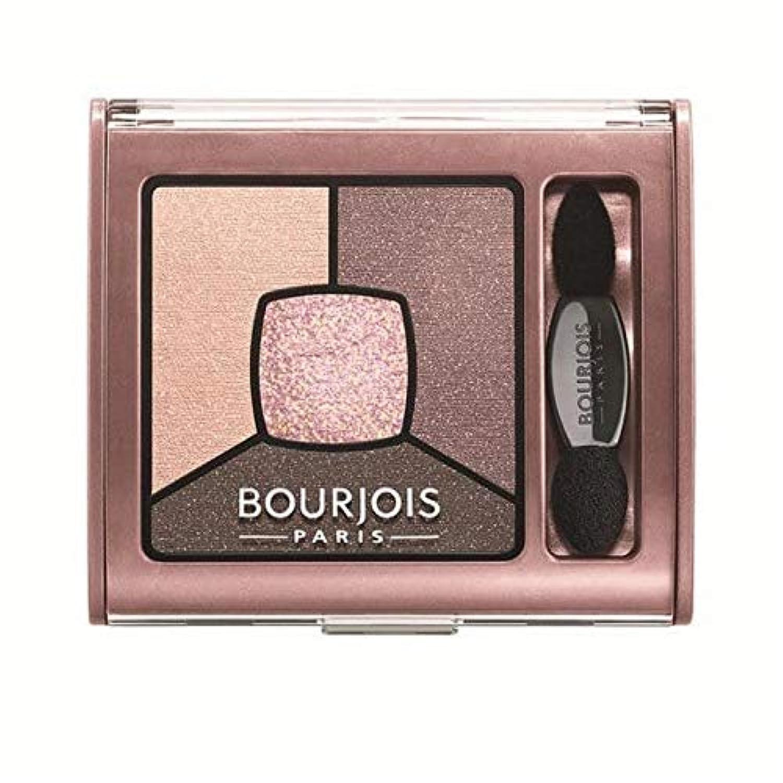 [Bourjois ] ブルジョワスモーキー話クワッドアイシャドウ - バラオーバー - Bourjois Smoky Stories Quad Eyeshadow - Over Rose [並行輸入品]