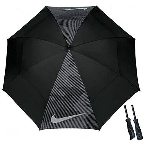 ナイキ(NIKE) 2016 Windsheer Lite Umbrella ウインドシア ライト アンブレラ 傘 62インチ (ブラック) [並行輸入品]