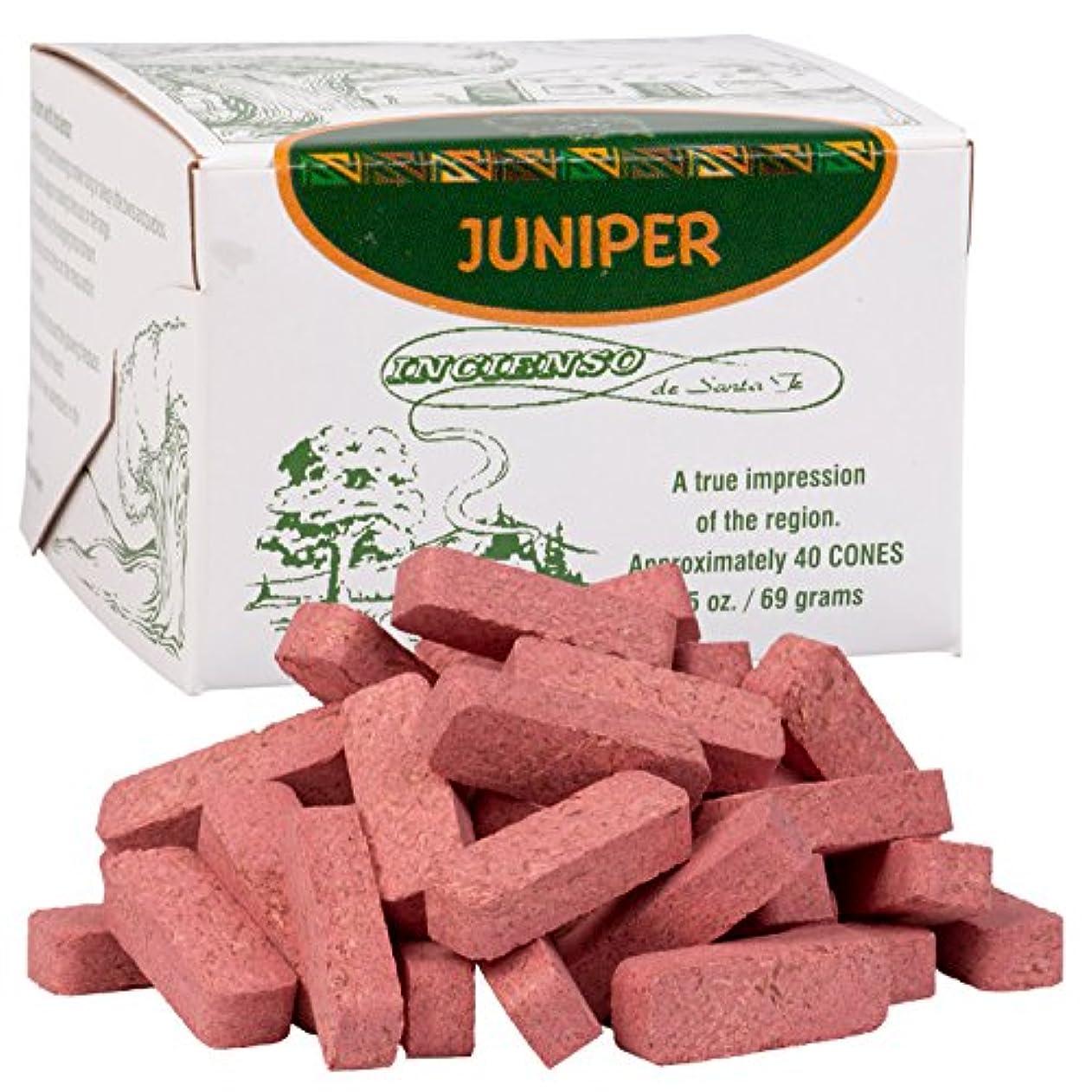 市区町村小麦粉してはいけませんJuniper木製Incense – 40レンガ – Incienso De Santa Fe