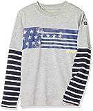 [クロックス] CROCSレイアード調ボーダー長袖Tシャツ ボーイズ 119100