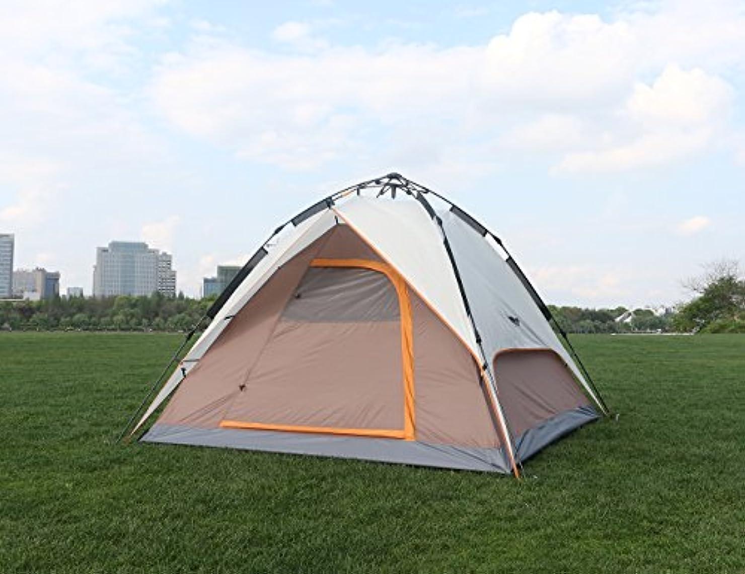 安息パドルシードLuxe Tempo アウトドア キャンプ用品 液圧式テント 4人用 テント 設営簡単 液圧式自動 防災用 防水 通気性