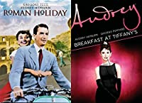 Audrey Hepburn 2 Film Collection Breakfast at Tiffany's & Roman Holiday Classic Bundle [並行輸入品]
