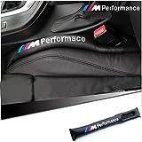ZAKI's 2本セットセット BMW Mスポーツ 隙間クッション シートパッド 落下防止 スペーサー ソフト クッション ブラック