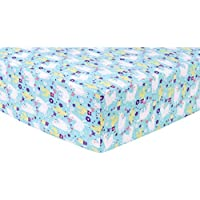 Trend Lab Llama Paradise Deluxe Flannel Fitted Crib Sheet [並行輸入品]