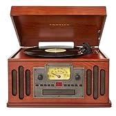レトロアンティークなマルチコンパクトオーディオ&ターンテーブル CDカセットレコードラジオMP3 Crosley(並行輸入)