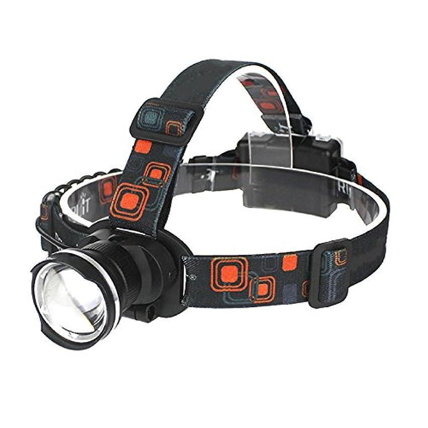 カストディアン研磨剤システムNanle LEDヘッドトーチ3つのモードを備えた超明るい1800lm XM-L T6防水調節可能なズーム可能ヘッドランプ快適な軽量ヘッドライトキャンプに乗って犬を歩く