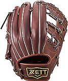 ゼット(ZETT) 硬式野球 グラブ(グローブ) プロステイタス 内野手用 セカンド・ショート用 右投げ用 チョコブラウン(3700A) サイズ:2 日本製 BPROG441