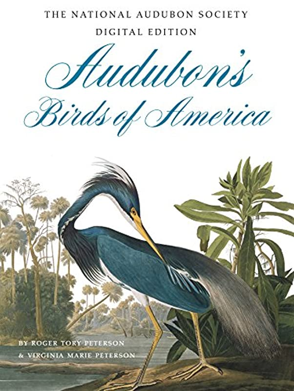 夕方うがいベギンAudubon's Birds of America: The Audubon Society Baby Elephant Folio (English Edition)