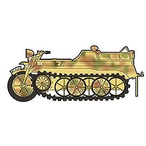 HOBBY MASTER 1/48 クライネス・ケッテンクラート 第1山岳猟兵旅団 完成品