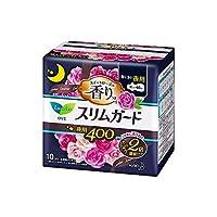 ロリエスリムガード スイートローズの香り 特に多い夜用400 10個