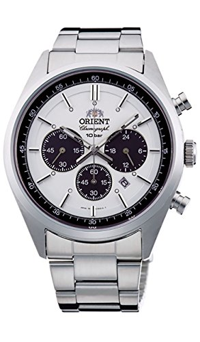 [オリエント]ORIENT 腕時計 スポーティー NEO 70's ネオセブンティーズ SOLAR PANDA ミルキーホワイト WV0041TX メンズ