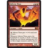 MTG 英語版 M11 業火のタイタン Inferno Titan 赤 神話レア 基本セット2011 マジック・ザ・ギャザリング