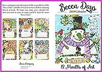Becca カレンダーカード