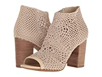 [ジェシカ シンプソン] Jessica Simpson レディース Rianne アンクルブーツ Vanilla Cream Strech Crochet US9(25.5cm) - M [並行輸入品]