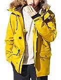 43Degrees N-3B type ジャケット ミリタリー アウター ウェア / Mustard Lサイズ
