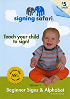 Signing Safari Teach Your Child to Sign: Beginner Signs & Alphabet