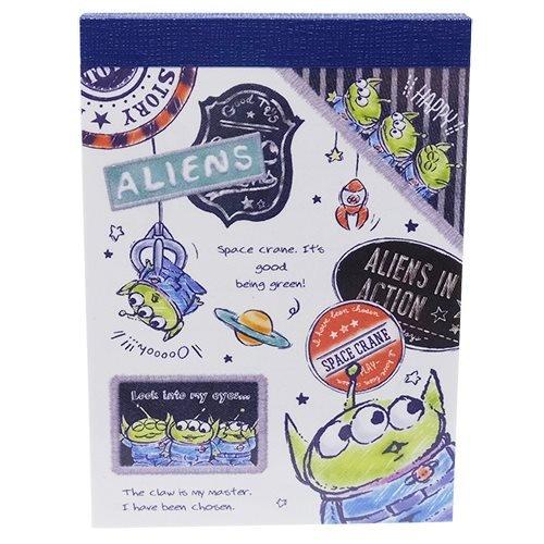 [해외]토이 스토리 메모장 미니 노트 | 디즈니 86921 (외계인 | 데님)/Toy Story [Notepad] Mini Mini Memo | Disney 86921 (Alien | Denim)