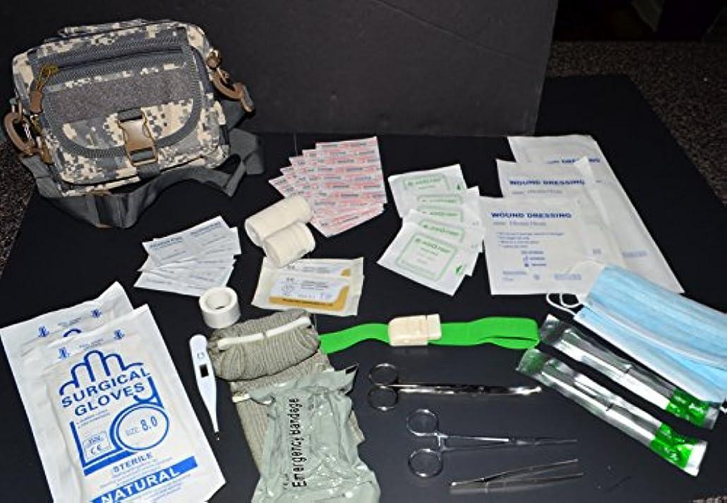 ロッドの間でしなやかな酸Tactical IFAK 60 + PIECE FIRST AID MOLLEバッグメディカルポーチMOLLE ACUデジタルカモ