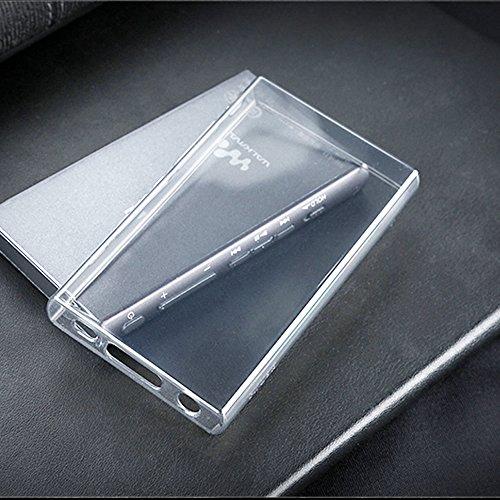 SHINEZONE Aシリーズ Sony Walkman NW-A40 / NW-A47 / NW-A45 / NW-A46HN / NW-A45HN / NW-A30 用 ケース ソフト クリア 軽量 衝撃防止 擦り傷防止 TPUケース 保護カバー 伸縮性強い(純透明)