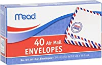 3Pk。Mead # 63/ 4Air Mail封筒、40個X 3、合計120(モデル74212)