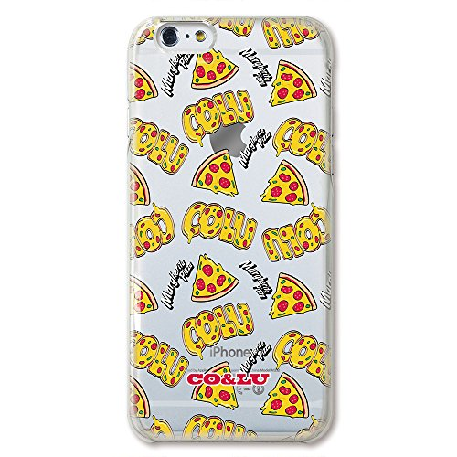 collaborn COCOLULU × CollaBorn iPhone6 Plus(5.5インチ)専用クリアケース Pizza_CL BR-I6P-151