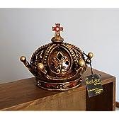 アンティーク風 オシャレな 置物 外国の 王様風 王冠