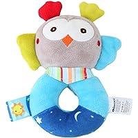 aijiaye My First Soft Rattle幼児おもちゃ、毒性ファブリックアクティビティ赤ちゃんHand Bell幼児用ベビーぬいぐるみおもちゃギフト