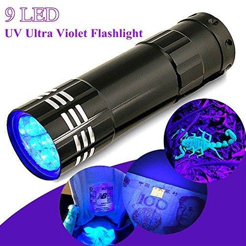 GGG 紫外線ランプ  9LED ミニ アルミ UV ウルト...