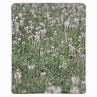 マウスパッド ゲーミングマウスパッド 滑り止め 25 X 30 厚い 耐久性に優れ おしゃれ うさぎ草花フィールド